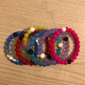Lokai bracelets (6)